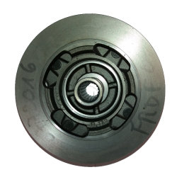 Disque de frein avant avec moyeu D 170 mm - Microcar Virgo