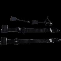 Couple ceinture sécurite noire JDM ORIGINE