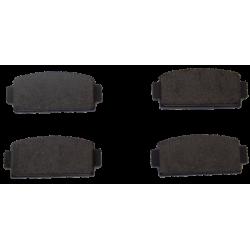 jeu de 4 Plaquettes de frein Arrière - Microcar-Ligier