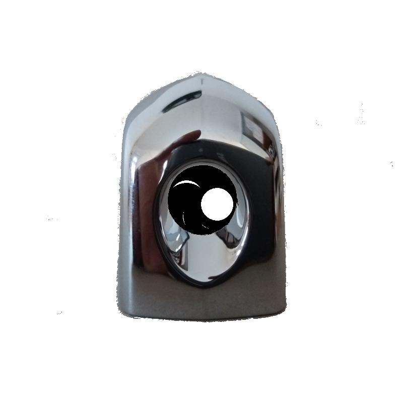 Enjoliveur de poignée de porte extérieur gauche avec trou de barillet - Aixam