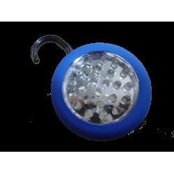 LAMPE DE TRAVAIL 24 LED MAGNETIQUE AVEC CROCHET RONDE