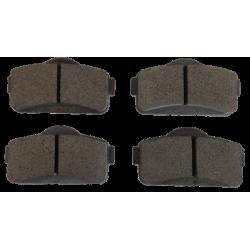 jeu de 4 Plaquettes de frein avant adaptable pour voiture sans permis