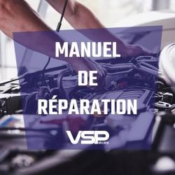 Manuel de réparation AIXAM CROSSLINE VSP 2005